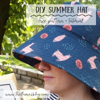 DIY CAPPELLO ESTIVO // TUTORIAL DI CUCITO + DOWNLOAD