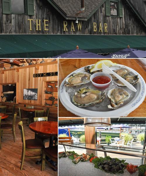 The Raw Bar  The Lobster House Restaurant