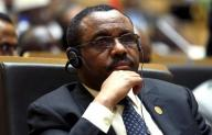 Ethiopia's PM Desalegn attends the opening ceremony of the Assembly of the African Union at the AU headquarters in Ethiopia's capital Addis Ababa