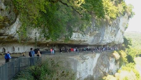 Prehistoric La Roque Saint Christophe