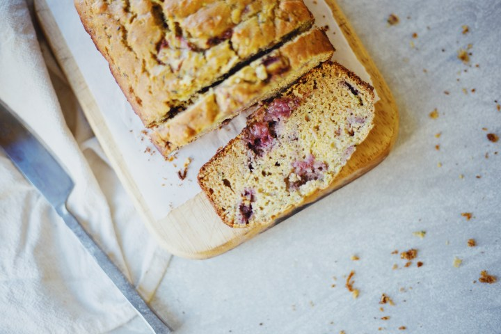Summer Strawberry Zucchini Bread
