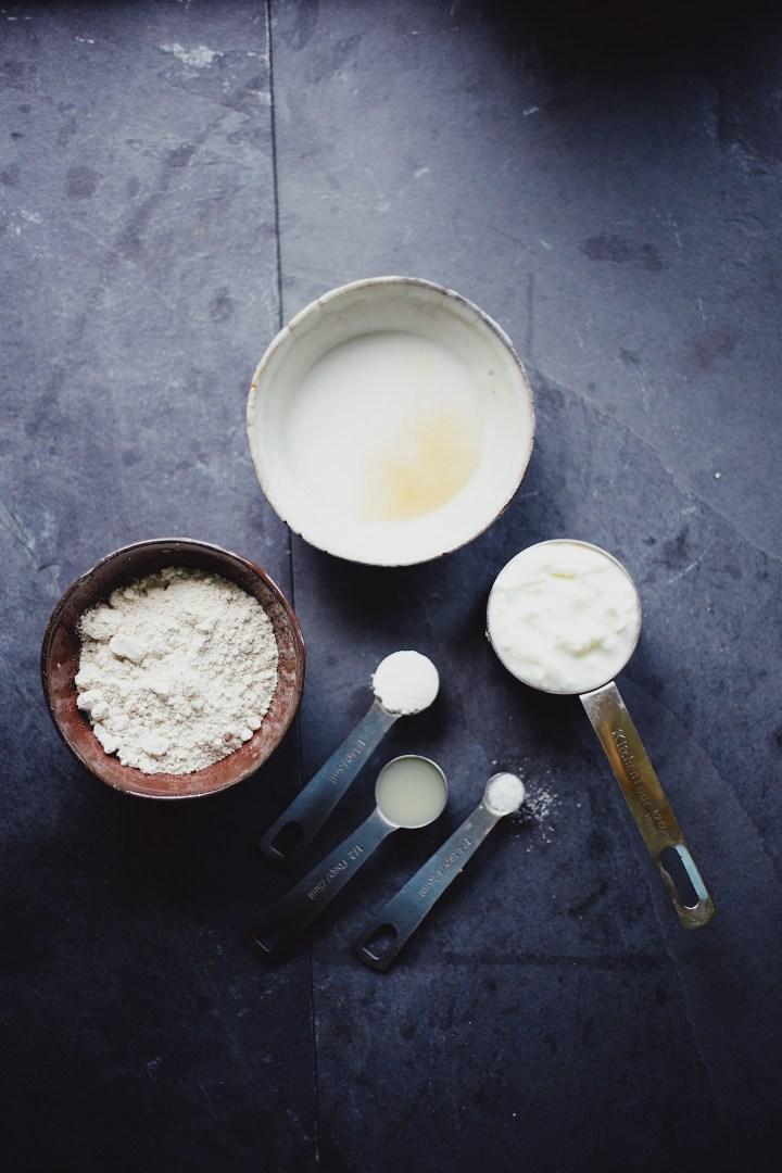 Fluffy Coconut Yogurt Pancakes Recipe (vegan and gf)