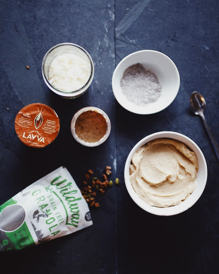 Gingerbread sweet potato smoothie