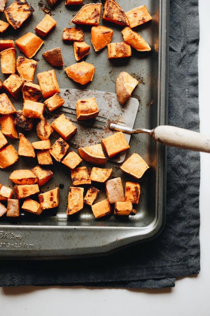 roasted sweet potato salad recipe