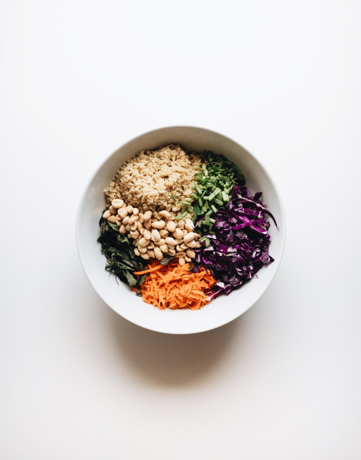 one bowl thai quinoa salad