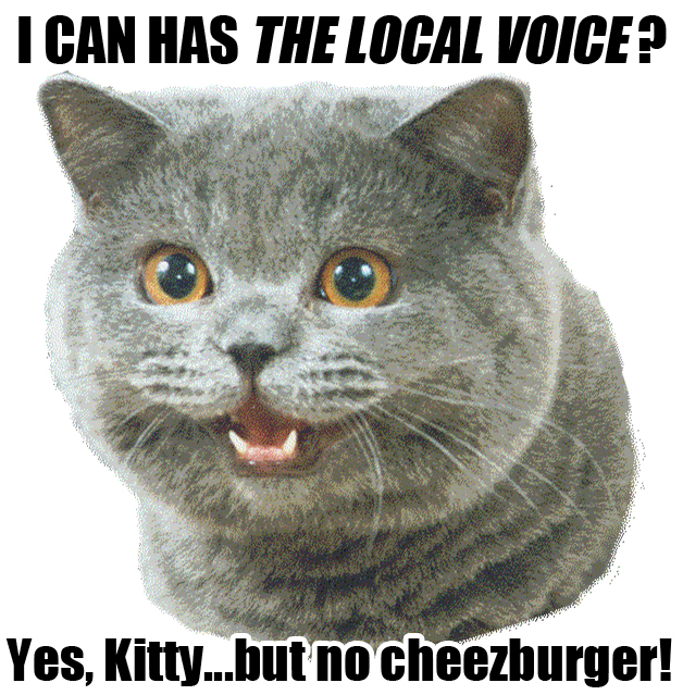 I Can Has The Local Voice?