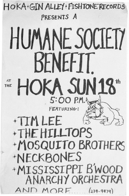 Neckbones at the Hoka Theatre.