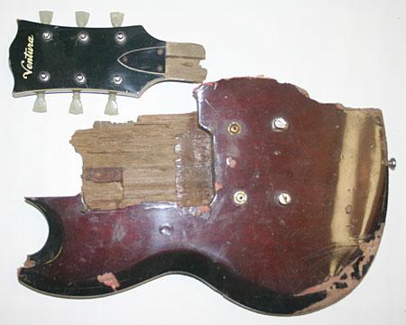 Tyler Keith's Broken Guitar