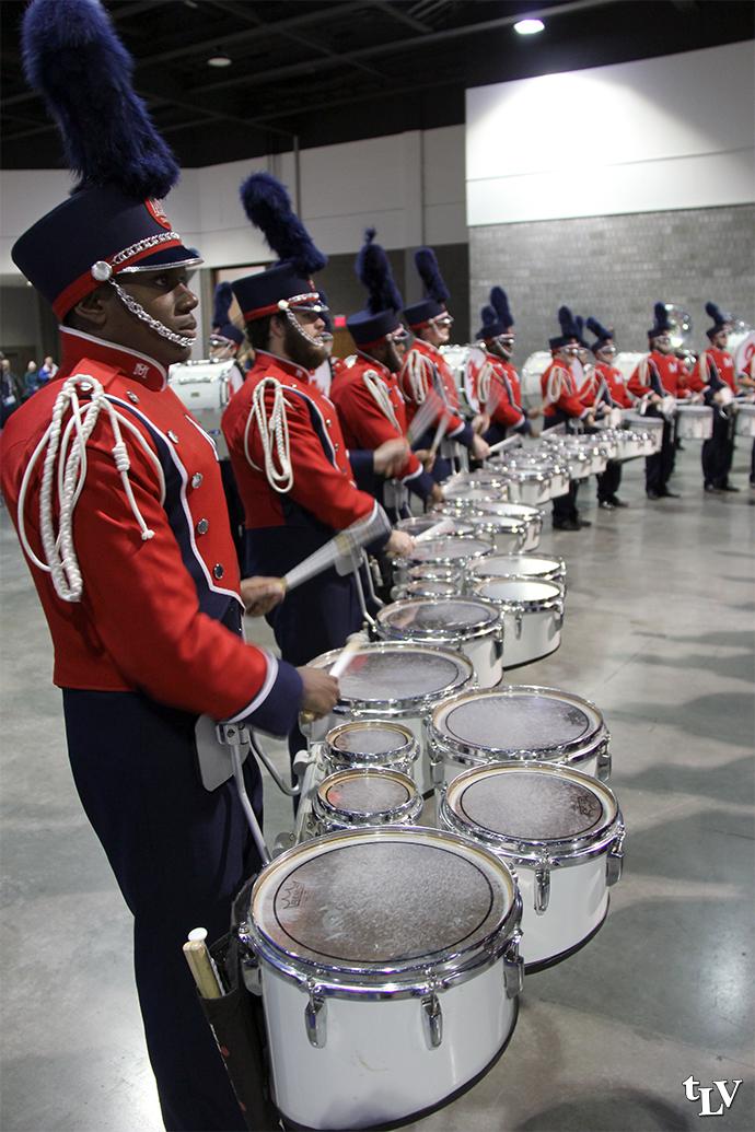 drumline pre game