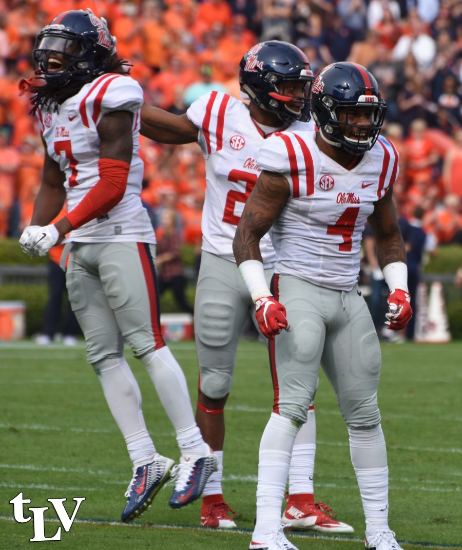 Ole Miss' Landshark Defense will need to play a stellar game against Mississippi State at Saturday's Egg Bowl. Photograph by Shelby Rayburn - © The Local Voice.