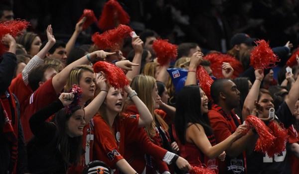 Rebel Fans Cheering