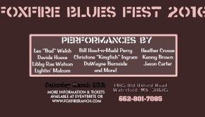 foxfire ranch blues festival