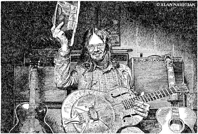 Luther Dickenson Illustration, September 11, 2015