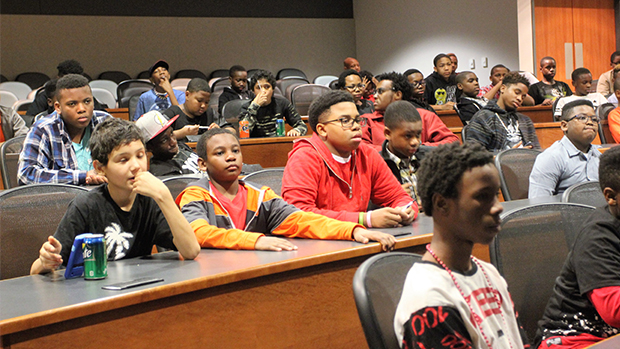The Boys on the Bus: University of Mississippi Fraternity and Law Students Host At-Risk Youth for MLK Observances