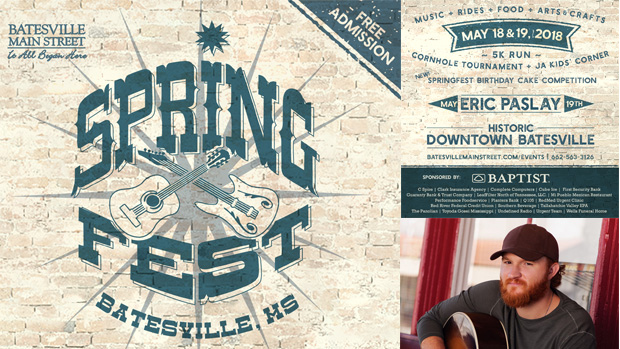 Celebrate 20 Years of Springfest in Batesville  with Food, Music, Art, and Cornhole