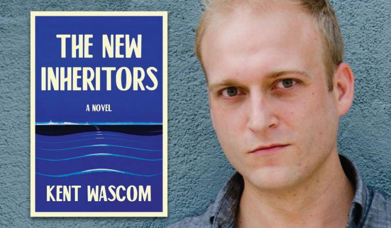 "Kent Wascom Signs His Book ""The New Inheritors"" Thursday, August 16 at Off Square Books in Oxford, Mississippi"