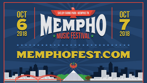 Enter to Win a Pair of 2-day Passes to MEMPHO Music Fest October 6-7 at Shelby Farms Park!