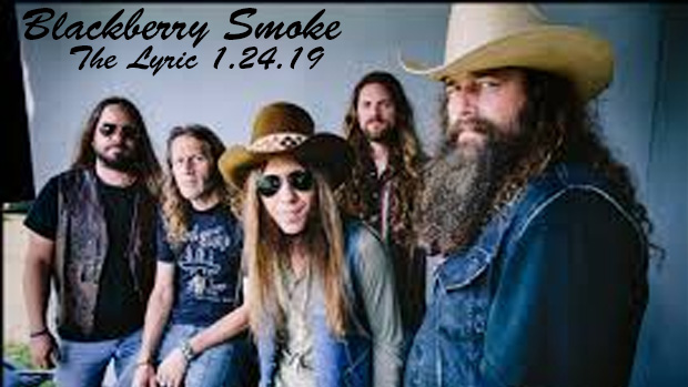 Georgia-Native Southern Rockers Blackberry Smoke Make a Stop at The Lyric Thursday January 24