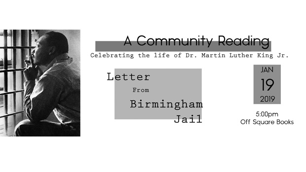 1/19: Celebrating the life of Dr. Martin Luther King, Jr.