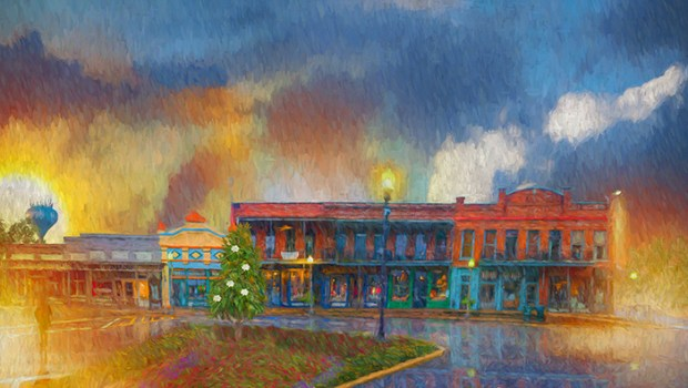 "Michael Underwood ""Oxford Mississippi, A Ritual Rain"""