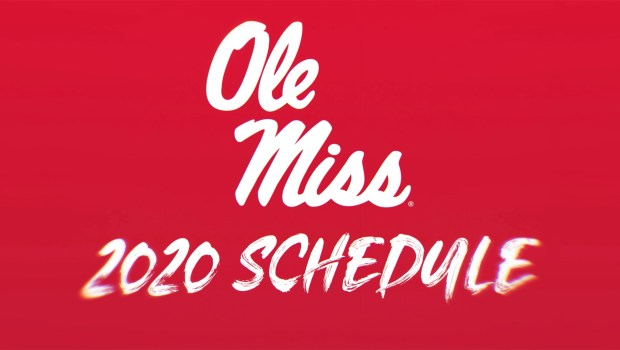 Revised 2020 Ole Miss Football Schedule Announced
