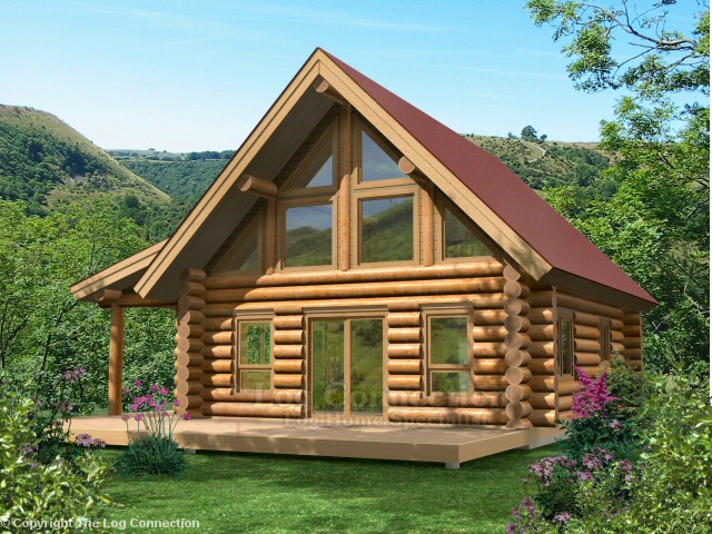 Woodridge Log Home Design By The Log Connection