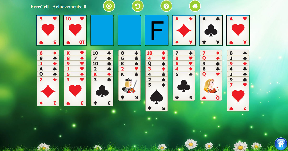 FreeCell Solitaire - Play Free FreeCell Solitaire Card Game Online - www.thelogicgame.com