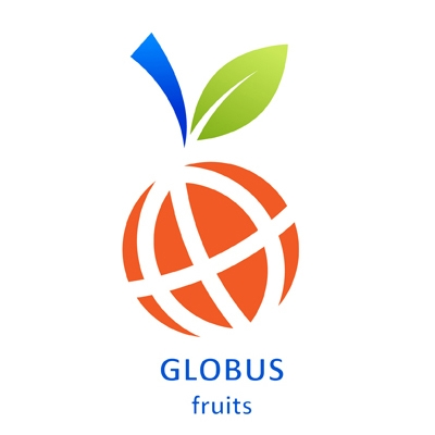 globus fruits logo logo
