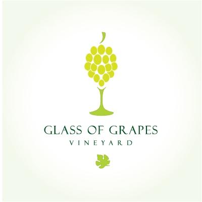 Glass of grapes  Logo Design Gallery Inspiration  LogoMix