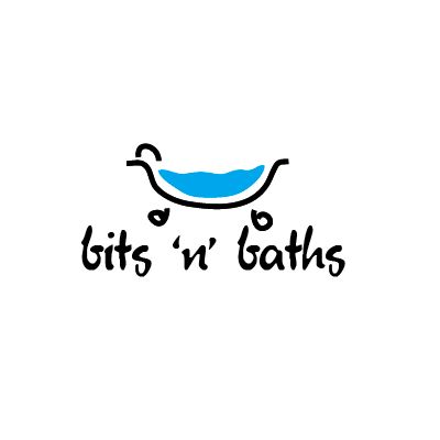 Bits n Baths Logo  Logo Design Gallery Inspiration
