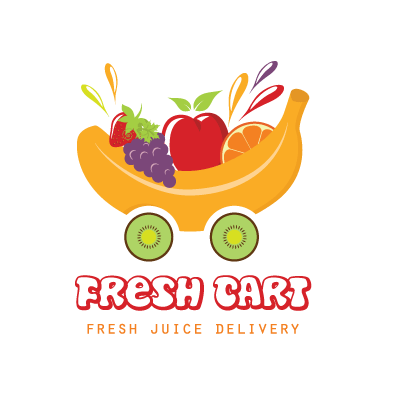 fresh fruit juice cart