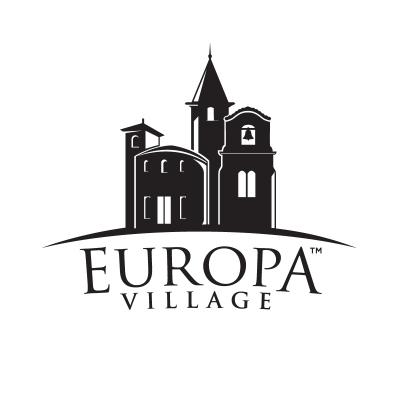 europa village logo design gallery inspiration logomix