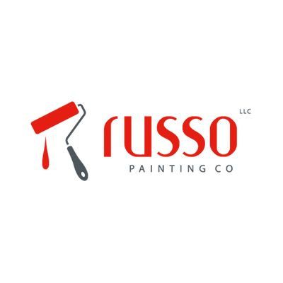 russo painting logo design