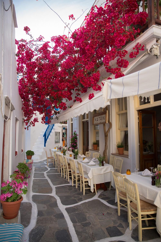 The Londoner  Dinner in Mykonos Town Greece