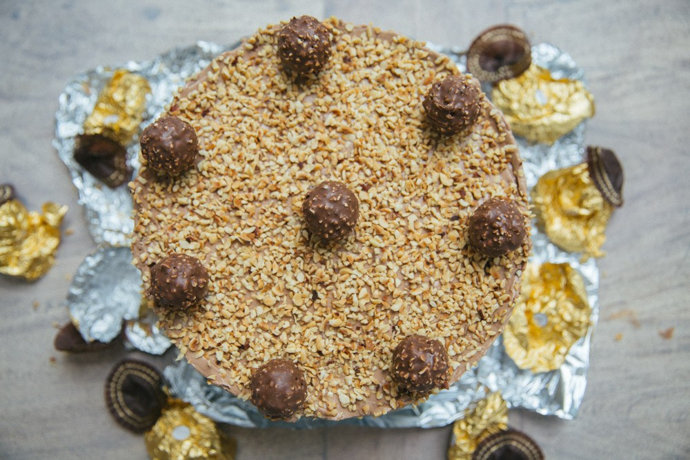 ferrero rocher cheesecake-11