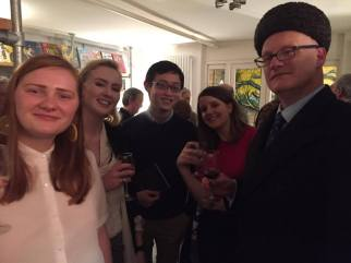 Poets Phoebe L. Corbett and Theophilus Kwek amongst guests