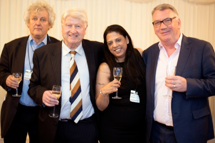 James Hughes-Onslow, Stanley Johnson, Vishaile Patel, Michael Grace