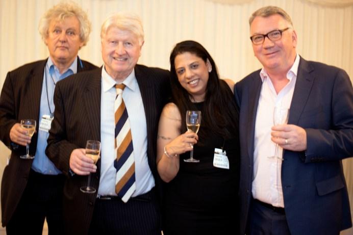 James Hughes-Onslow, Stanley Johnson, Vishaile Patel, Michael Grace