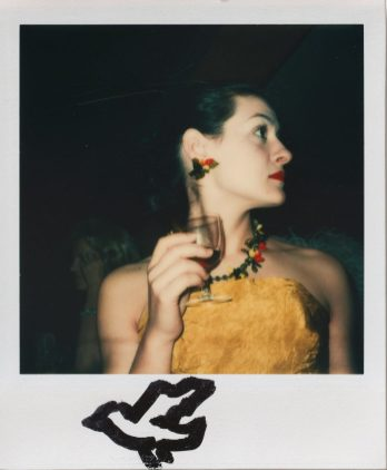 Andy Warhol, Paloma Picasso, ca. 1983, Polaroid Type SX-70, 10.8 x 8.8 cm, © 2018 The Andy Warhol Foundation for the Visual Arts, Inc. Licensed by DACS, London. Courtesy BASTIAN, London