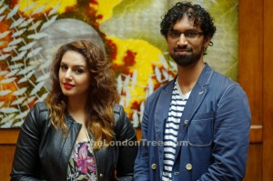 Me with Huma Qureshi. All Rights Reserved: The London Tree