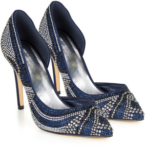Anderson Multi Gem Encrusted Court Shoe WAS £119 NOW £59