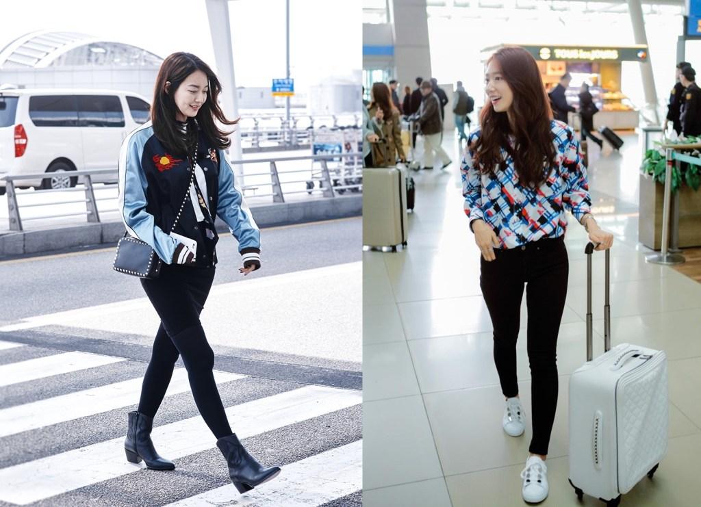 park shin hye and shin min ah
