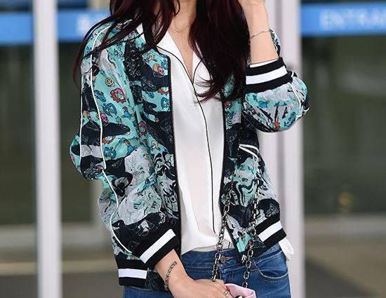 Park Shin Hye Safely Arrives In Manila