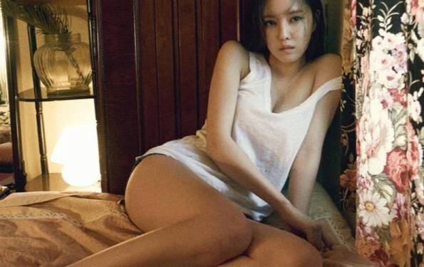 Hyomin Shares Pictorial