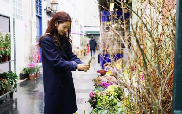 Actress Park Shin Hye