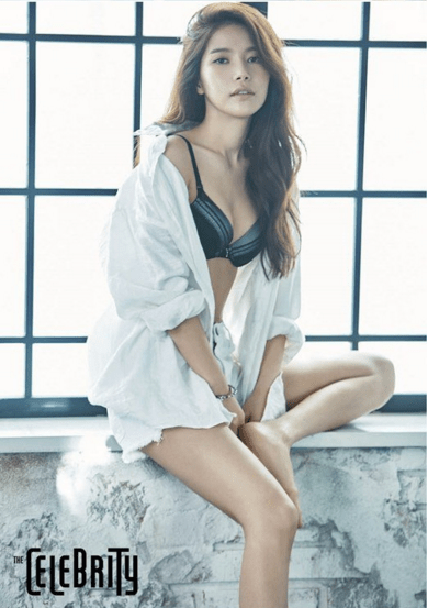 Mamamoo Solar 9 Alluring Lingerie Pictorials For The Celebrity Magazine