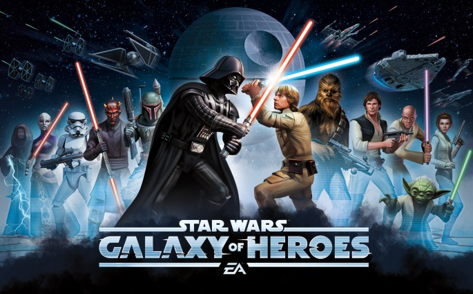 Android And IOS: STAR WARS: GALAXY OF HEROES