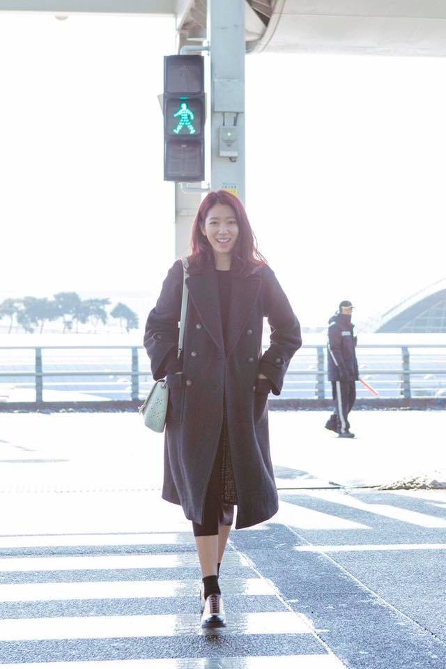 Park Shin Hye Heads For Chanel Couture SS17 In Paris
