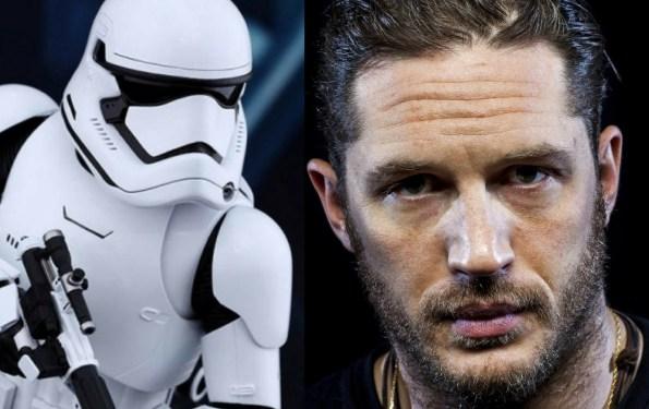 Is Tom Hardy A Stormtrooper In THE LAST JEDI?