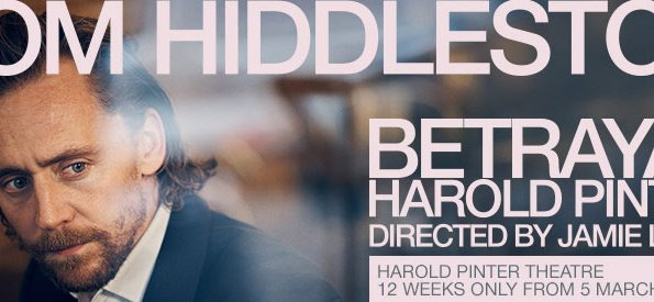 Tom Hiddleston Stars In BETRAYAL A Harold Pinter Play
